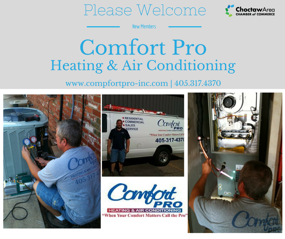 New Member Comfort Pro Heating Amp Air Conditioning